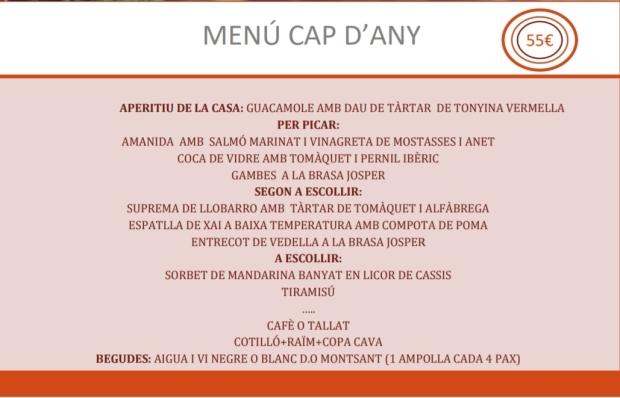 MENU CAP DANY 2017 ok